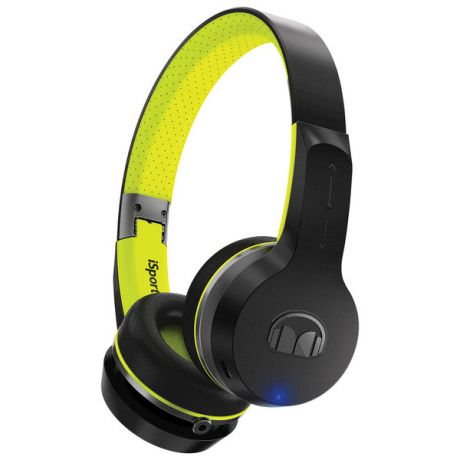 Беспроводные наушники Monster iSport Freedom Bluetooth On-Ear Black/Green