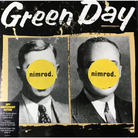 Green Day Green Day - Nimrod (20th Anniversary) (2 Lp, Colour)