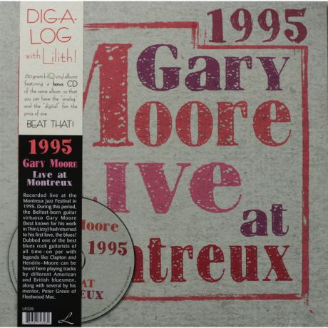 Gary Moore Gary Moore - Live At Montreux 1995 (2 Lp, 180 Gr + Cd)