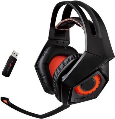 Гарнитура Asus ROG Strix Wireless черный 90YH00S1-B3UA00