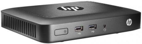 Тонкий клиент HP t420 Thin Client W4V27AA AMD Embedded G-Series GX-209JA (1.0GHz), 2048MB, 8GB MLC No DVD, Shared VGA, HP ThinPro 32