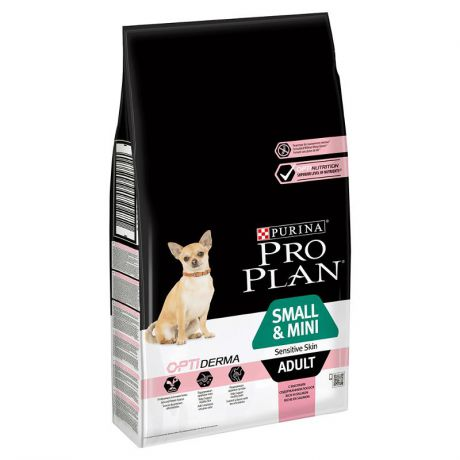 Корм Purina Pro Plan Small Mini Adult сanine Sensitive Skin Salmon and rice dry (7 кг)