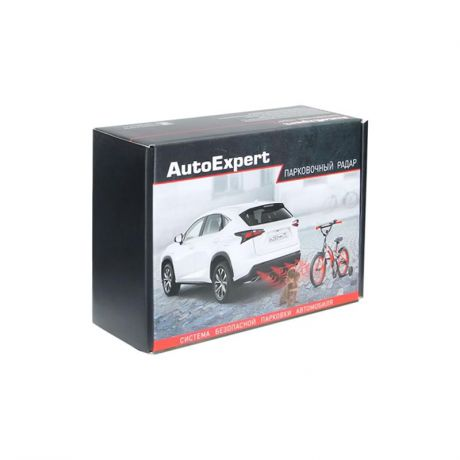 Парктроник AutoExpert PS-4L Profi B black