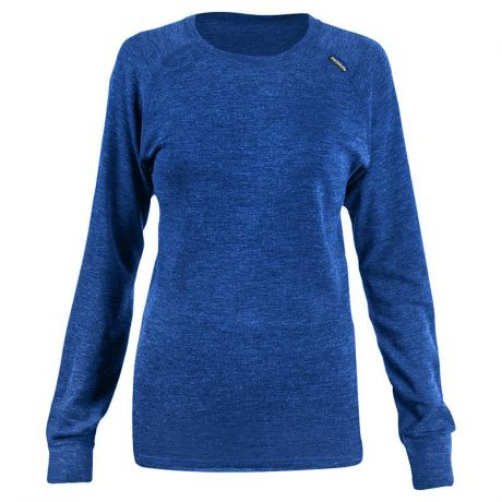 Футболка SNODALEN Long Sleeve Crew (S) шерсть, темно-синий