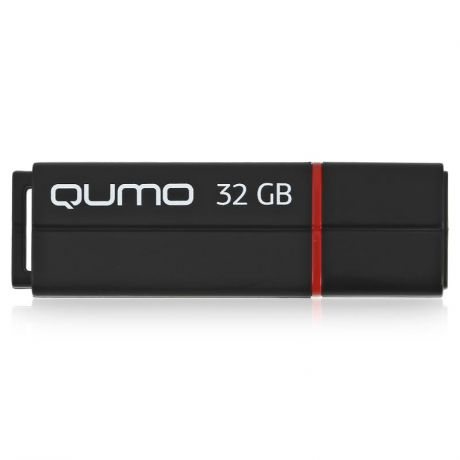 флешка 32ГБ Qumo Speedster, USB 3.0, QM32GUD3-SP-black, flash usb, черная