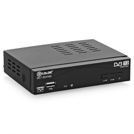 Ресивер DVB-T2 D-Color DC1301HD