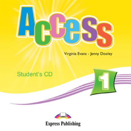 Evans V. Access 1. Students Audio CD. Beginner. (International). Аудио CD для работы дома