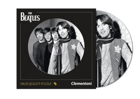 Паззл Clementoni The Beatles пластинки 212 эл. Helter Skelter арт. 21401