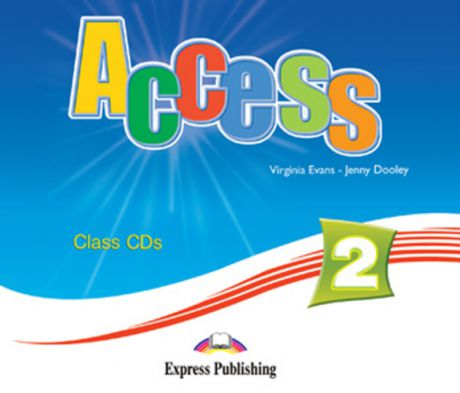 Evans V. Access 2. Class Audio CDs. (set of 4). Elementary. (International). Аудио CD для работы в классе