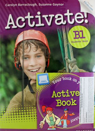 Barraclough C. Activate! B1 Students` Book (CDROM)+Access Code