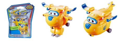 Игрушка, Super Wings (Супер крылья) Мини-трансформер Донни