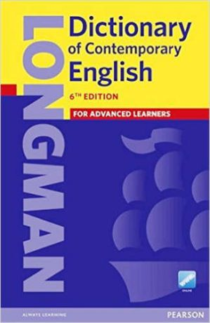 Longman Dictionary of Contemporary English, 6Ed +Online access