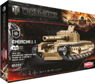 Конструктор World of Tanks Churchill 218 дет