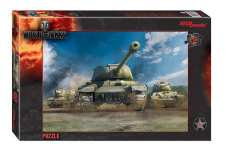 Пазл Step puzzle Wargaming World of Tanks 560эл., 35*50см 97027
