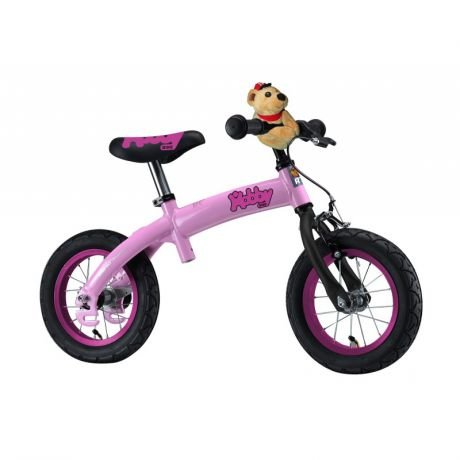 RT Велобалансир-велосипед Hobby-bike RT original ALU New 2016 Pink