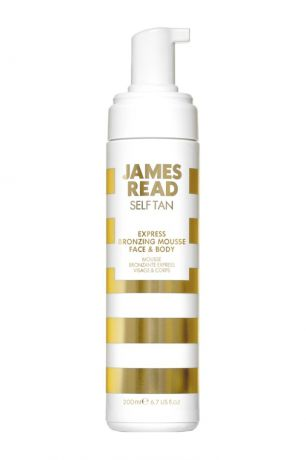 James Read Экспресс мусс-автозагар для лица и тела EXPRESS BRONZING MOUSSE FACE&BODY, 200 ml