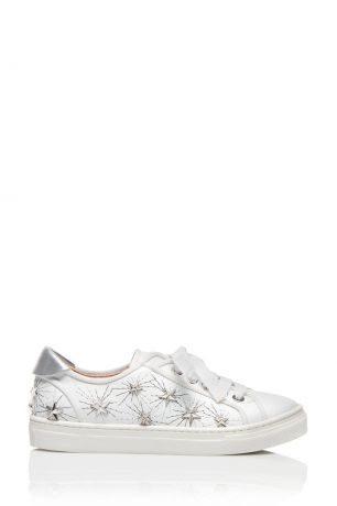 Aquazzura Children Кеды Cosmic Star L.A. Sneaker Mini