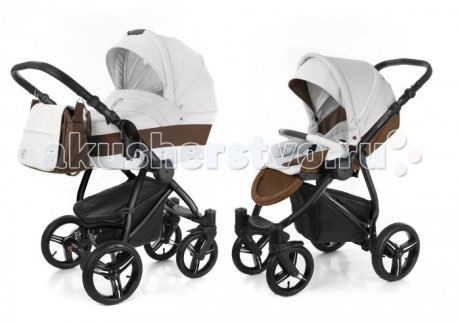 Коляски 2 в 1 Esspero Grand Newborn Lux 2 в 1 шасси Black