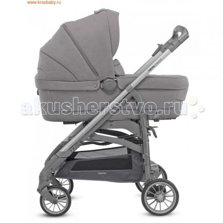 Коляски 3 в 1 Inglesina Trilogy Plus System Quattro 4 в 1 на шасси Trilogy Plus Chrome White