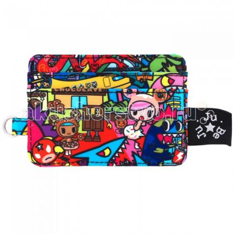 Сумки для мамы Ju-Ju-Be Визитница Be Charged Tokidoki