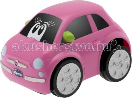 Машины Chicco Машинка Turbo Touch Fiat 500 Pink