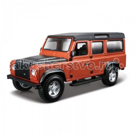 Машины Bburago Машина Land Rover Defender 110