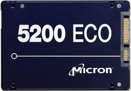 "Твердотельный накопитель SSD 2.5"" 960Gb Crucial Micron 5200ECO Read 540Mb/s Write 520Mb/s SATA MTFDDAK960TDC-1AT1ZABYY"