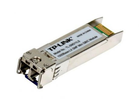 Модуль TP-LINK TL-SM311LS MiniGBIC 1000Base-LX, Single-mode, LC interface, Up to 10km, 1310nm
