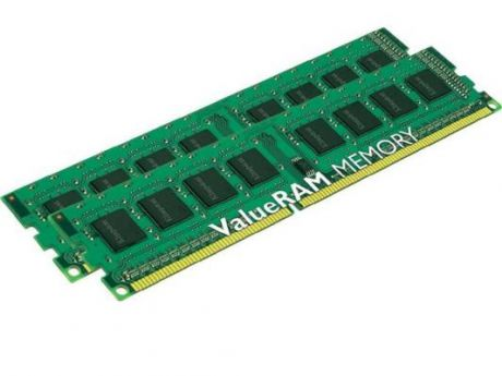 Оперативная память 16Gb (2x8Gb) PC3-12800 1600MHz DDR3 DIMM Kingston KVR16N11K2/16 Retail