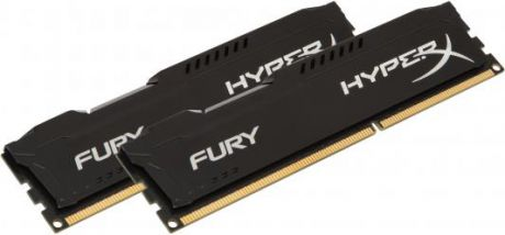 Оперативная память 16Gb (2x8Gb) PC3-10600 1333MHz DDR3 DIMM CL9 Kingston HX313C9FBK2/16 HyperX FURY Black Series