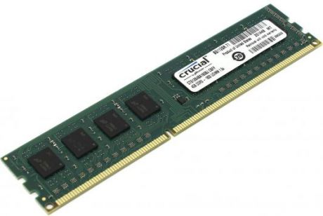 Оперативная память 4Gb PC3-12800 1600MHz DDR3 DIMM Crucial CT51264BD160B(J)