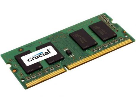 Оперативная память SO-DIMM DDR3 Crucial 2Gb (pc-12800) 1600MHz (CT25664BF160B)