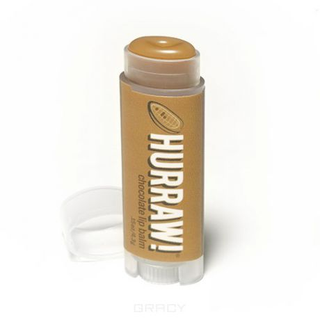 "Hurraw Бальзам для губ ""Шоколад"" Chocolate Lip Balm"