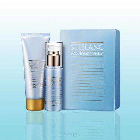 Steblanc Двухфазный пилинг для лица CO2 Home Peeling Collagen Firming, 50 + 50 мл 36EA