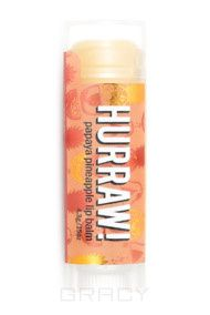"Hurraw Бальзам для губ ""Папайя Ананас"" Papaya Pineapple Lip Balm"