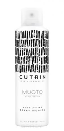 Cutrin Спрей-мусс для прикорневого объема Root Lifting Spray Mousse Muoto, 200 мл