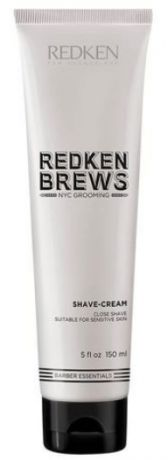 Redken Крем для бритья Brews Shave Cream, 150 мл
