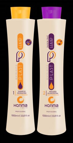 Honma Tokyo Набор Plast Hair Bixyplastia Passion Fruit, 2х500