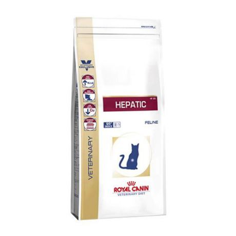 Корм для кошек ROYAL CANIN (Роял Канин) Vet Diet Hepatic HF26 при заболеваниях печени сух. 500г