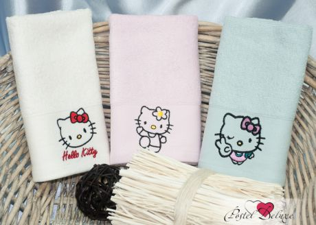 Полотенца Camomilla Детское полотенце Hello Kitty (30х50 см - 3 шт)
