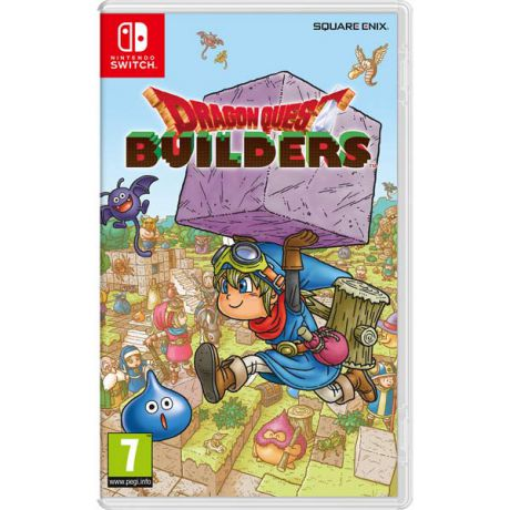 Игра для Nintendo Dragon Quest Builders