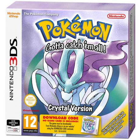 Игра для Nintendo Pokemon Crystal