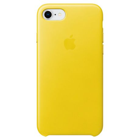Чехол для iPhone Apple iPhone 8/7 Leather Case Spring Yellow