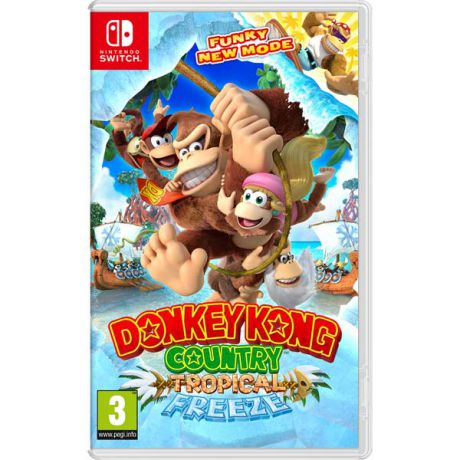 Игра для Nintendo Donkey Kong Country: Tropical Freeze