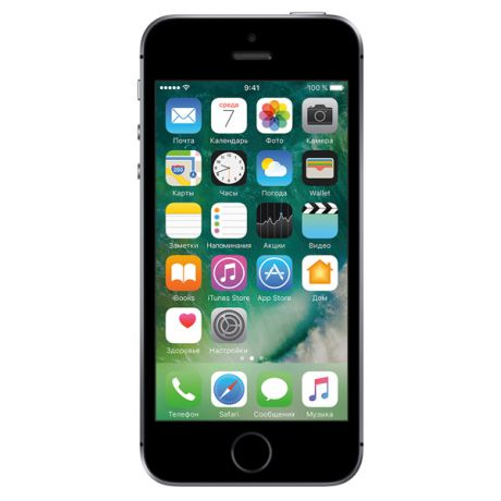 Apple IPhone Apple iPhone SE 16GB Space Gray (FLLN2RU/A) восст.