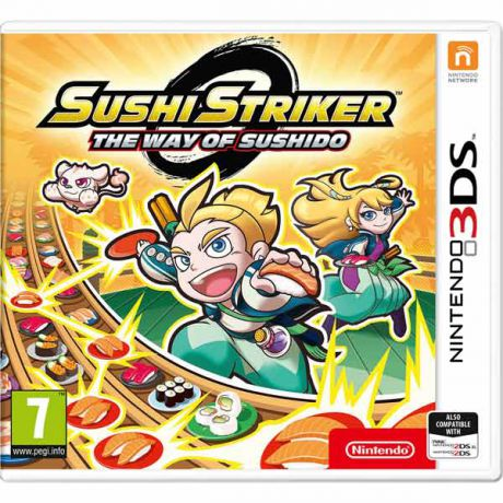 Видеоигра для Nintendo 3DS Nintendo Sushi Striker: The Way of Sushido