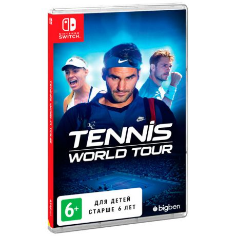 Видеоигра для Nintendo Switch . Tennis World Tour