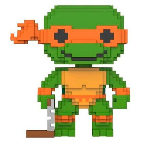 Фигурка Funko 8-Bit Pop!:TeenageMutantNinjaTurtles Michelangelo