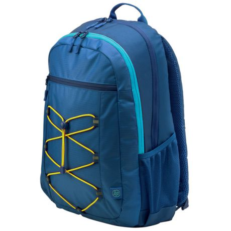 "Рюкзак для ноутбука HP 15.6"" Active Backpack, Blue/Yellow (1LU24AA)"