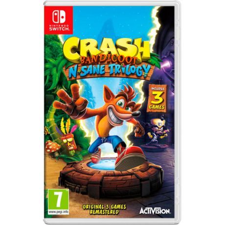 Видеоигра для Nintendo Switch . Crash Bandicoot N?sane Trilogy